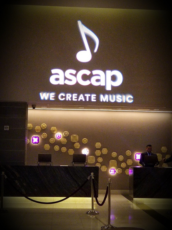 ASCAP – I CREATE MUSIC